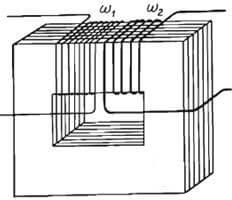 Lõi thép của máy biến thế là gì được ghép lại từ các lá thép