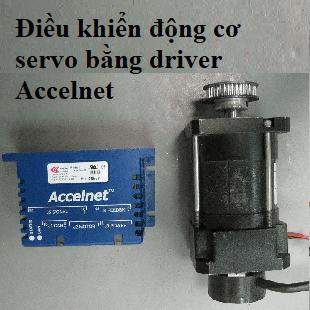 điều khiển motor servo dc