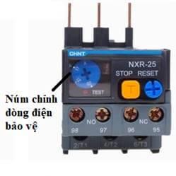 relay nhiệt chỉnh được dòng điện