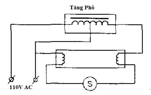 sơ đồ lắp đặt mạch điện đèn huỳnh quang 3 dây